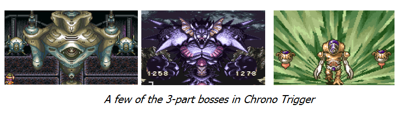 Three Part Bosses